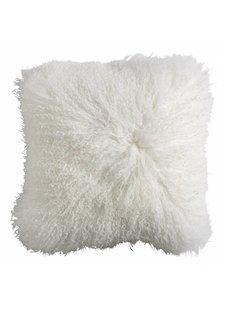 Nordal Coussin de siège en peau d'agneau Tibet - blanc - Nordal