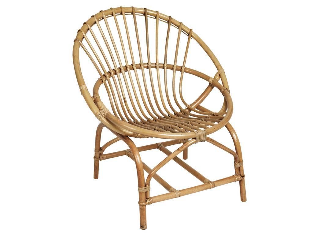 chair armchair kubu natural rattan mat bloomingville petite lily interiors. Black Bedroom Furniture Sets. Home Design Ideas