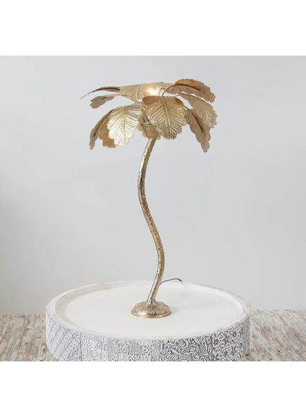 Zenza Table lamp Palm Tree Gold - Ø40x65cm - Zenza