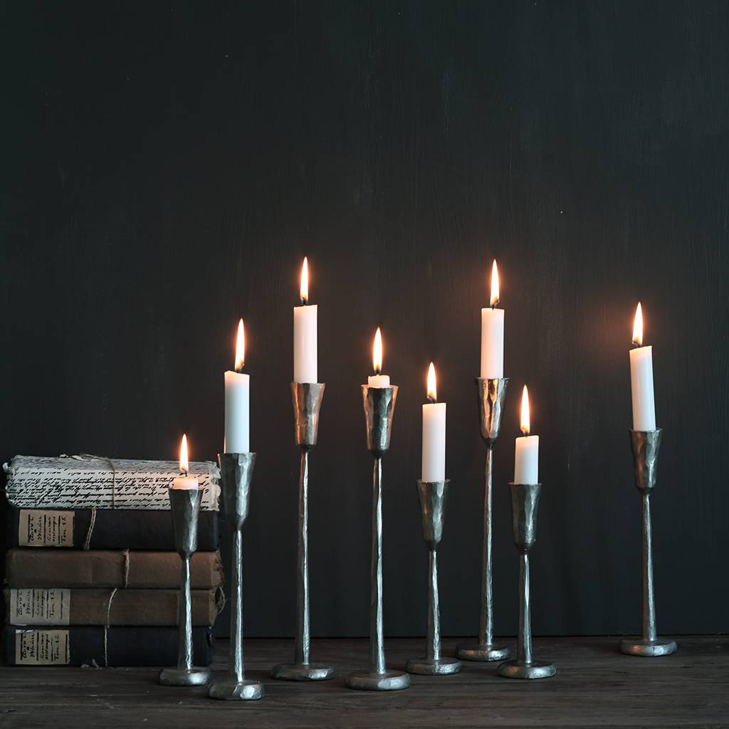Tell me more Conjunto de 3 candelabros de hierro - Tell Me More