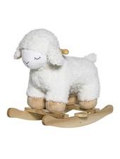 Bloomingville Rocking sheep - white - Bloomingville
