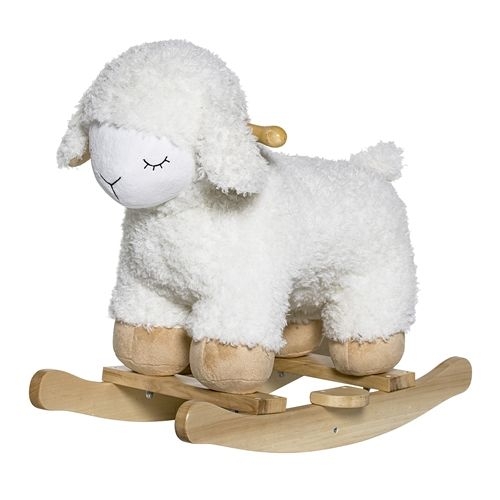 Bloomingville Rocking sheep - white - Bloomingville