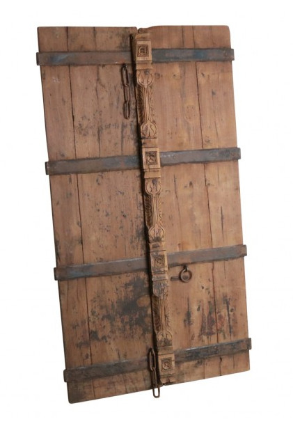 puertas tallados y de teca - 92x8x164cm