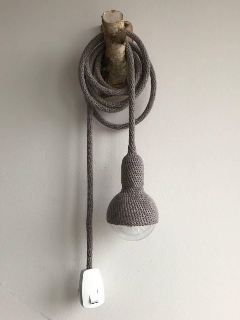 Et Aussi... Lampe baladeuse crochet - gris foncé - Et aussi