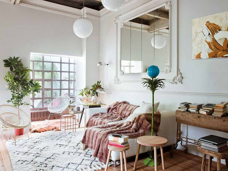 Parisian vibes in Spain - a fun mix of Art Deco, Vintage, Ethnic and Scandinavian interior styling by Ramisa Projects & Fun