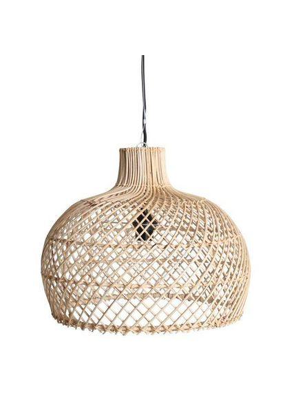 Lámpara de suspensión de ratán - natural - Ø39cm