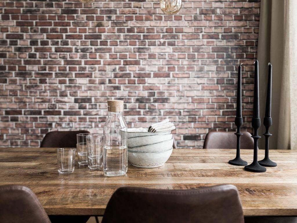 House Doctor Table pliante industrielle - metal en bois - 180x80cm - House Doctor