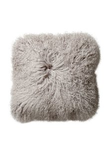 Bloomingville Seat Cover / Cushion Tibetanian Lambskin - Nature - Bloomingville