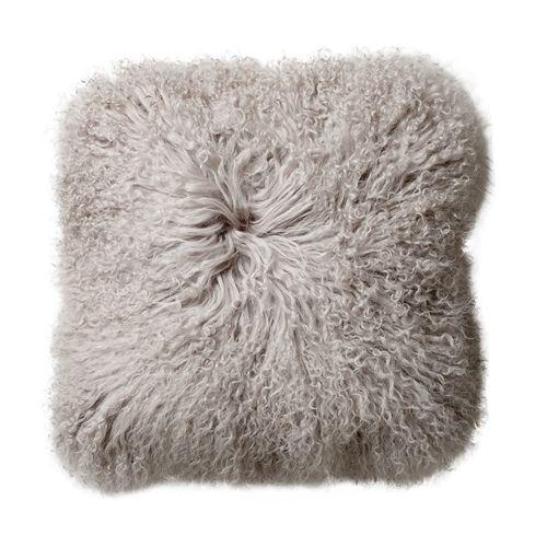 Bloomingville Seat Cover / Cushion Tibetanian Lambskin - Nature - Bloomingville
