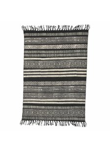 House Doctor Tapis Stack noir/gris/nude - 160x230cm - House Doctor