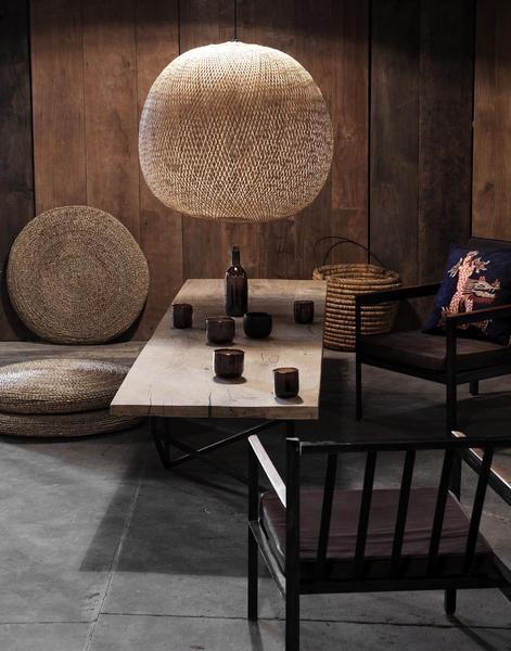 ay illuminate bamboo pendant lamp plume mini naturel 38 cm ay illuminate petite lily. Black Bedroom Furniture Sets. Home Design Ideas