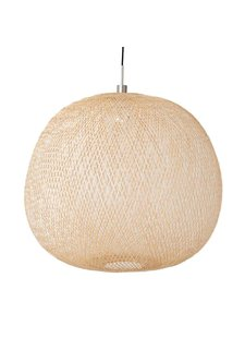Ay Illuminate Lampe Suspension Bambou PLUME mini - Naturel - Ø38 cm - Ay illuminate