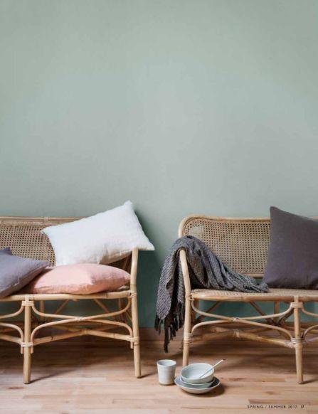 banc canap rotin naturel 120cm broste copenhagen petite lily interiors. Black Bedroom Furniture Sets. Home Design Ideas