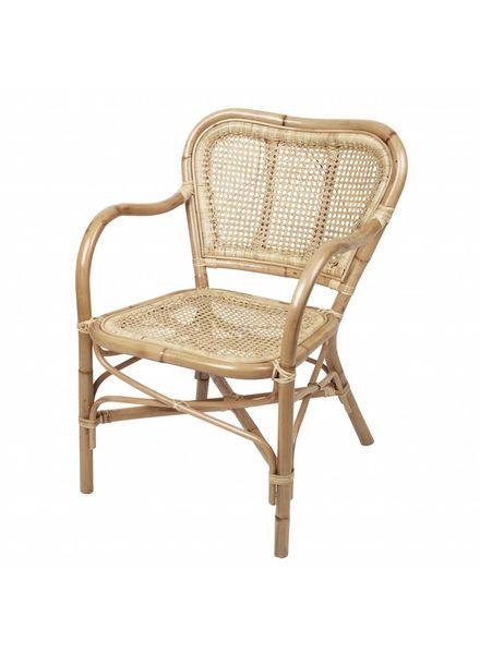 Broste Copenhagen fauteuil en rotin naturel - Broste Copenhagen