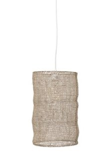Bloomingville Suspension en jute - naturel - naturel - Ø27xH45cm - Bloomingville