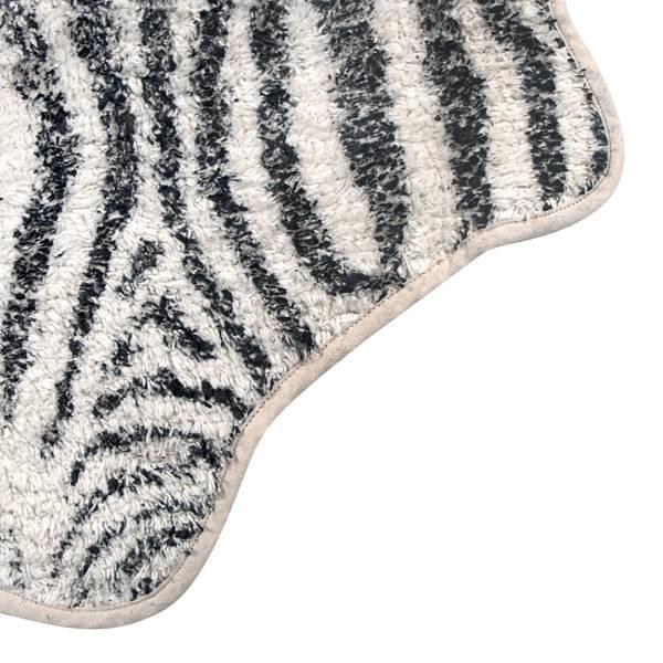 HK Living Tapete para Baño Zebra - 85x100cm - HK Living