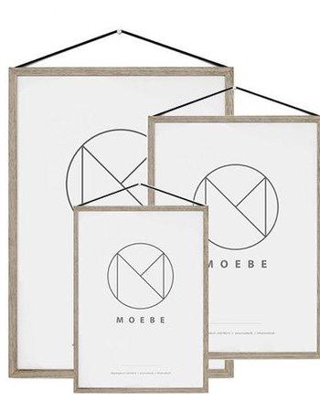 Moebe Oak frame - A3 - MOEBE