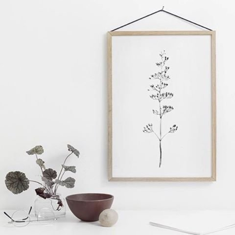 Oak Frame A3 Moebe Petite Lily Interiors