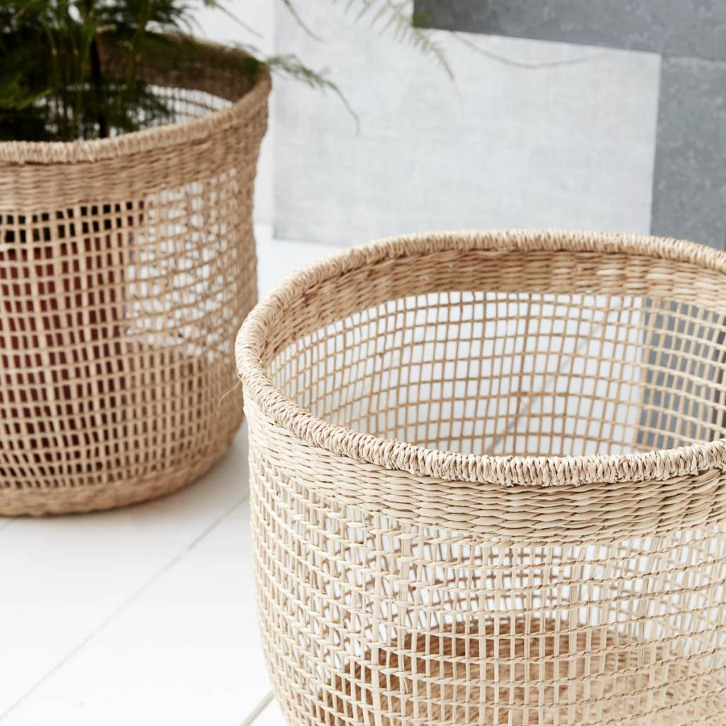 House Doctor Set of 3 baskets - natural - House Doctor