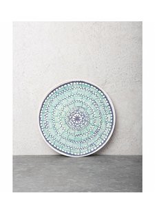 Urban Nature Culture - UNC Assiette Mandala Duo en bambou - Ø21cm - UNC