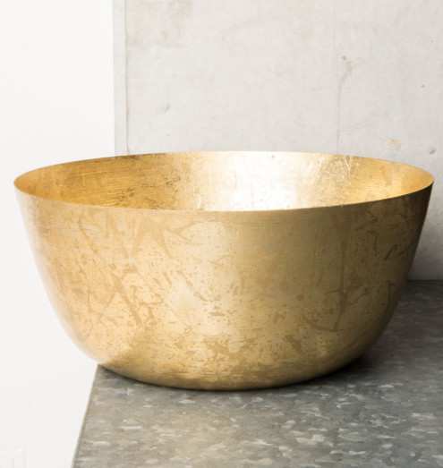 Urban Nature Culture - UNC Bowl Soltice - metal - gold - Ø35cm - UNC
