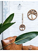 MaduMadu Wall hanging Palm tree small - Ø21cm - MaduMadu