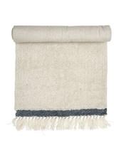 Bloomingville Alfombra de lana - Blanco - L120x60cm - Bloomingville