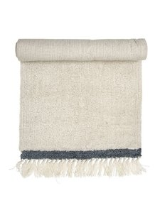 Bloomingville Wool Rug - White - L120x60cm - Bloomingville