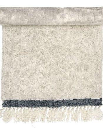 Bloomingville Wool Rug - White - L120x60cm - Bloomingville