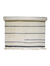 Bloomingville Wool Rug - White - L200xW140cm - Bloomingville