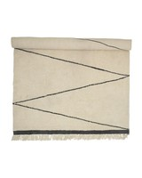 Bloomingville Wool Rug - creme / nature - L200x300cm - Bloomingville
