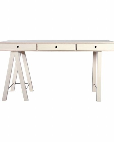 House Doctor Scandinavian desk 'Mix' - 150Xh76cm - natural - House Doctor -  Petite Lily Interiors