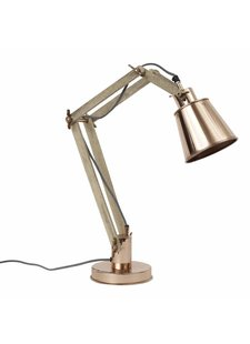 Nordal Lampe de bureau Industrielle - Cuivre - Nordal