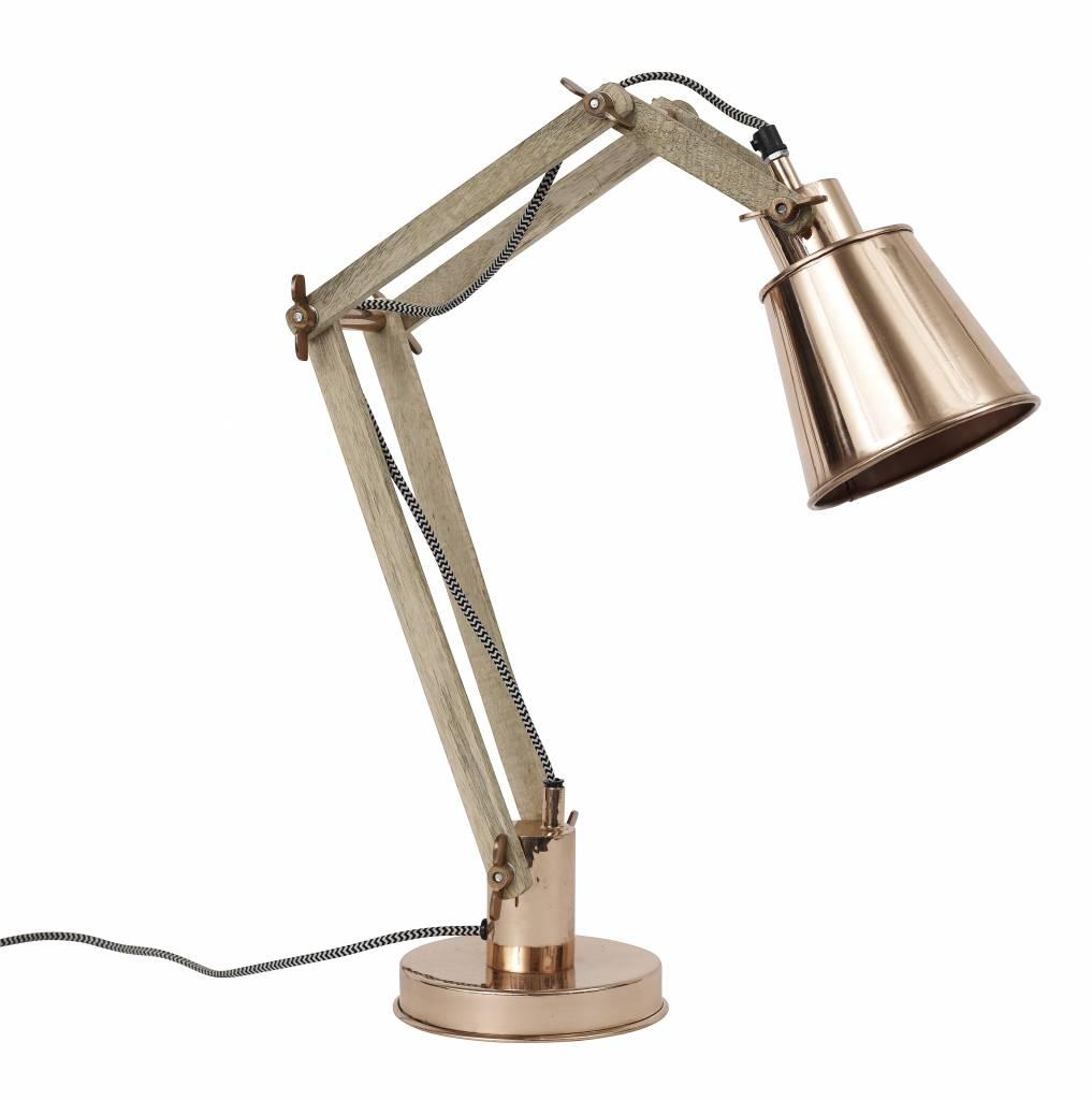 Nordal Lámpara de Escritorio Industrial - Cobre - Nordal