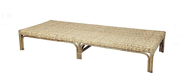 lit de jour bambou naturel noir 210cm hubsch interior petite lily interiors. Black Bedroom Furniture Sets. Home Design Ideas