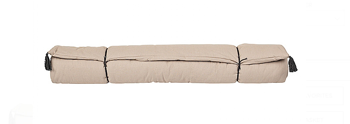 Broste Copenhagen Day bed mattress - 80xL190cm - Taupe - Broste Copenhagen