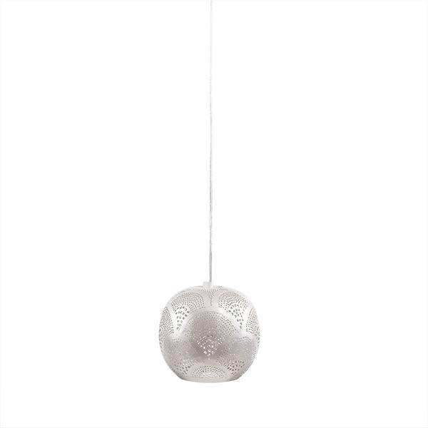 Zenza Pendant Lamp - Loaf Fan mini - Ø15x16cm - silver - Zenza