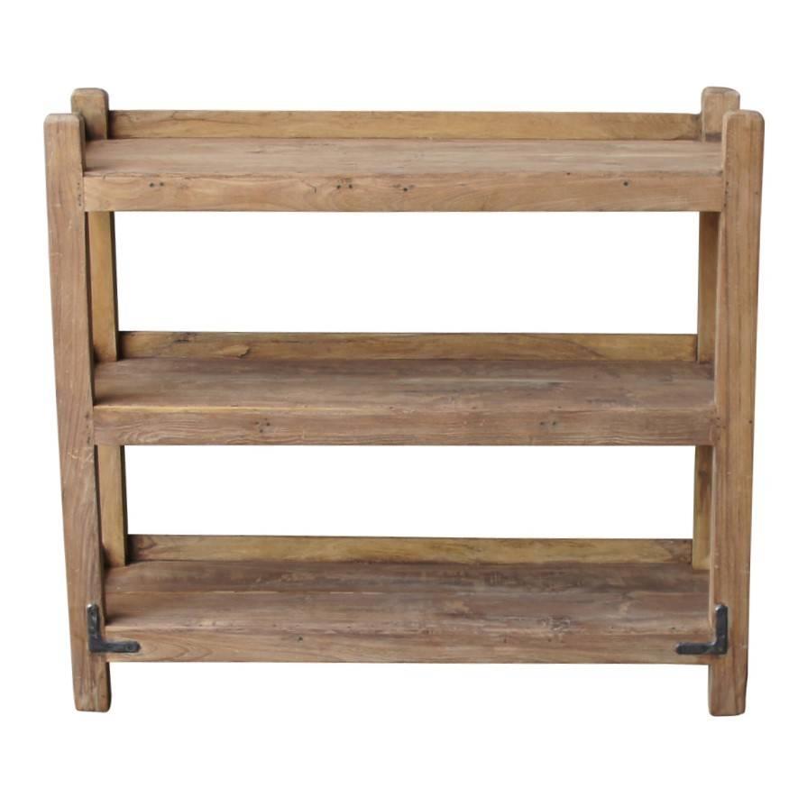 Evenaar Estante de la cocina de madera - 90x34x76cm - Evenaar