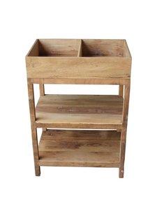 Evenaar Wooden kitchen rack - 85x60x40,5cm - Evenaar