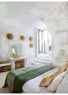Le secret du style Boho d'Ibiza réside dans les détails et les matériaux utilisés - vu sur pinterest