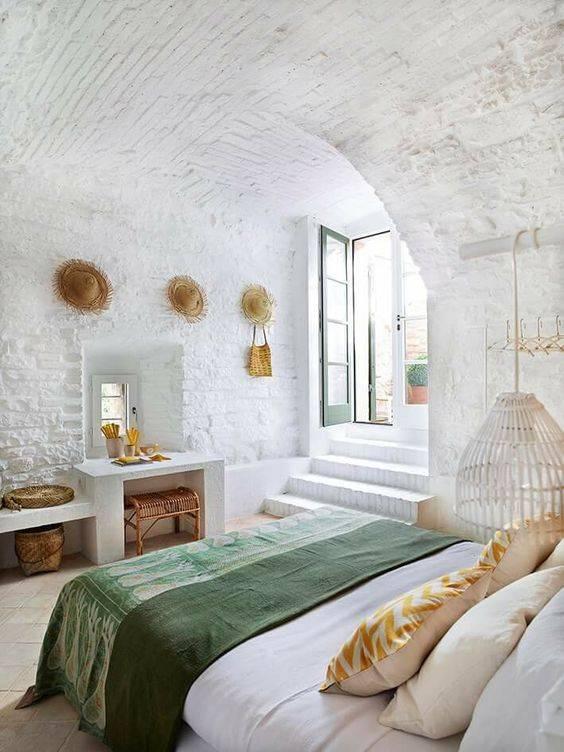 El secreto del estilo bohemio de Ibiza reside en los detalles y materiales usados - créditos fotos Pinterest