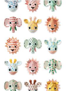 Studio Ditte Wallpaper Zoo Studio Ditte - pink