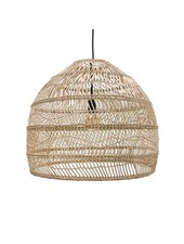 HK Living Lampe Suspension en osier - Ø60xh50cm - HK Living