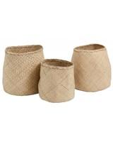 Bloomingville Set of Seagrass baskets - natural - Nordal