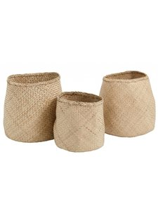Bloomingville Set of Seagrass baskets - natural - Nordal