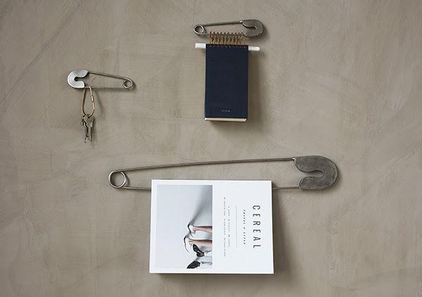 Monograph silver safety pin - 53cm - Monograph