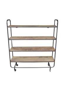 Evenaar Industrial shelving in metal and wood - h132cm - Evenaar