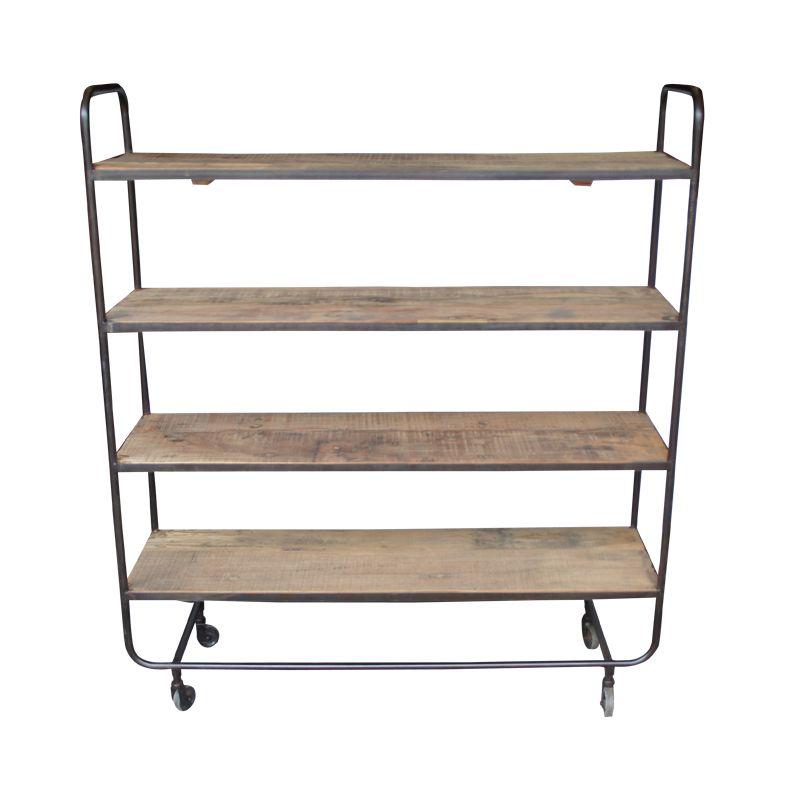 evenaar etag re industrielle en bois et m tal h132cm evenaar petite lily interiors. Black Bedroom Furniture Sets. Home Design Ideas