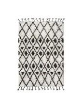 HK Living Berber rug - white with black diamond pattern - 120x180 cm - HK Living