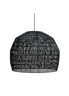 Ay Illuminate Black rattan Nama3 suspension Ø72cm - Ay Illuminate